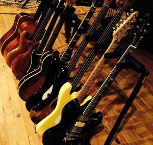 Guitares au Studio du Bras d'Or